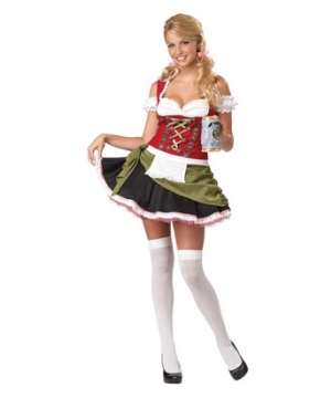 Bavarian Bar Maid Adult plus size Costume