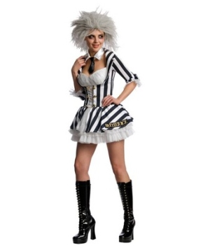 Sexy Beetlejuice Adult Costume