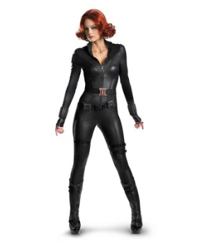 The Avengers Black Widow Women Costume deluxe