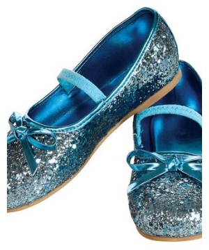 Blue Kids Flat Shoes