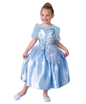 Blue Princess Girls Costume