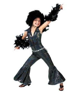 Boogie Girl Kids Costume