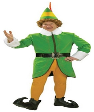 Buddy the Elf Adult deluxe Costume