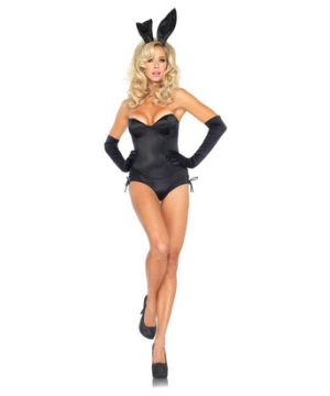 Black Sexy Bunny Womens Costume