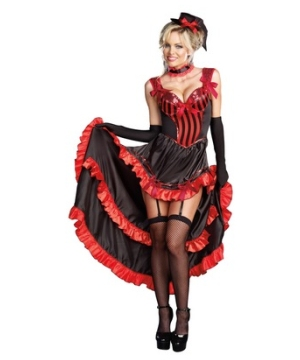 Can Can in Paris Women Costume
