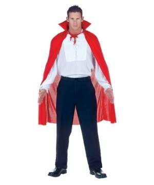 Red Adultcape