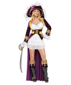 caribbean queen women costume