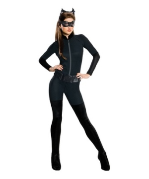 The Dark Knight Rises Catwoman Womens Costume