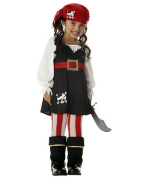 Red and White Kids Tights