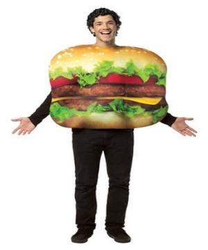 Cheeseburger Adult Costume