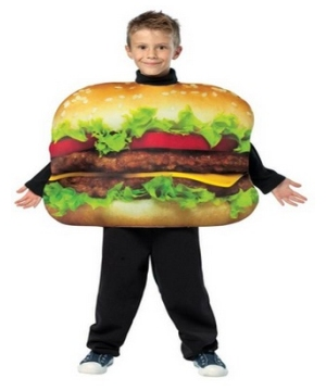 Cheeseburger Kids Costume