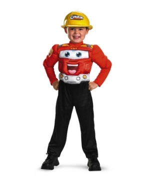 Chuck Muscle Toddler Boys Costume