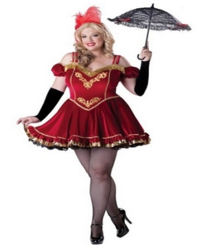 Circus Cutie Adult plus size Costume