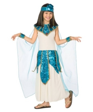 Blue Cleopatra Girl Egyptian Costume