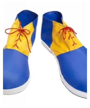 Blue Clown Shoes Adult Accessory