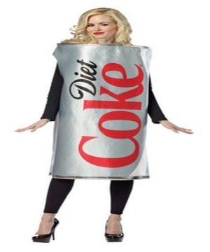 Diet Coca Cola Can Adult Costume