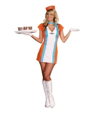 Flight Attendant Adult Costume