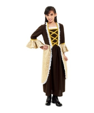 Miss Colonial Kids Costume