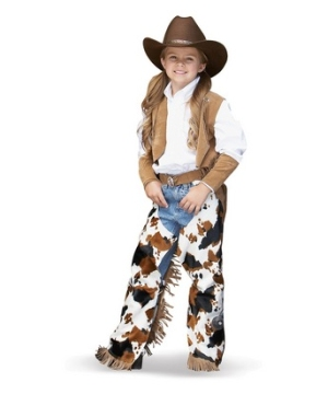 Cowgirl Girls Costume