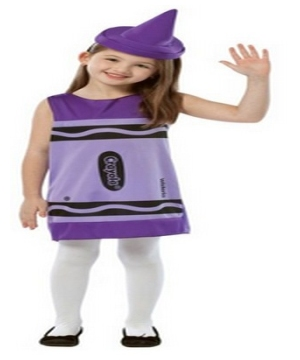 Crayola Wisteria Tank Dress Girl Costume