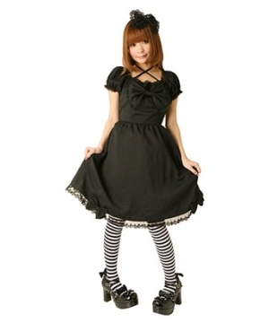 Cream Doll Bitter Chocolate Dress Adult Costume