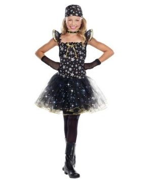Cute As Gold Pirate Light up Girl Costume