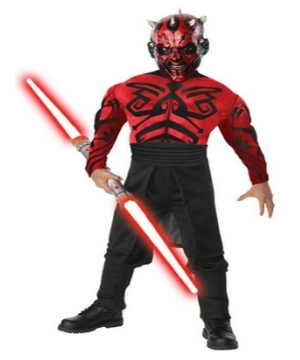 Star Wars Darth Maul Men Costume