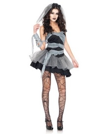 Dead And Buried Bride Zombie Adult Costume