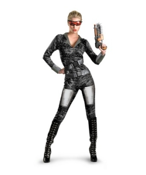 Lady Commando Women Costume deluxe
