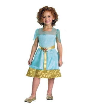 Brave Merida Economy Girls Costume