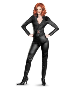 Black Widow Adult plus size Costume