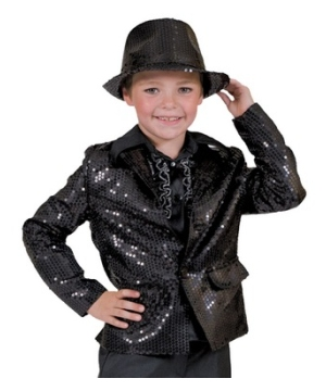 Black Disco Boys Costume