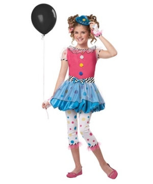 Dotsy Clown Kids Costume