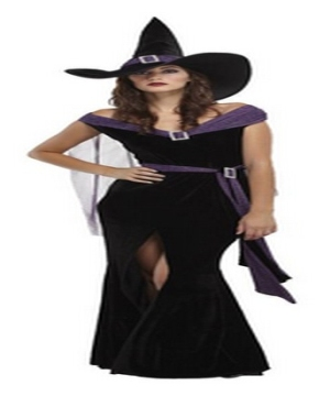 Sexy Elegant Witch Women Costume