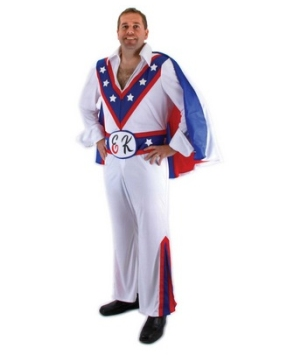 Evel Knievel Men Costume
