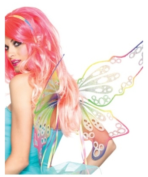 Fantasy Rainbow Fairy Adult Wings