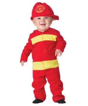 Fire Fighter Baby Costume
