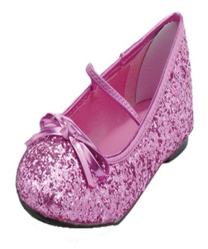 Pink Glitter Kids Shoes