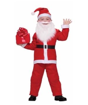 Santa Kids Costume