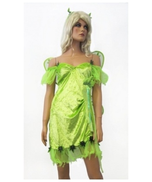 Fun Leaf Fairy Women Costume