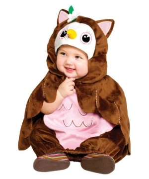Cute Hoot Owl Baby Costume