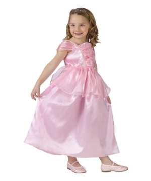 Pink Princess Dress Girls Costume