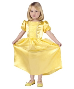 Yellow Princess Kids Costume