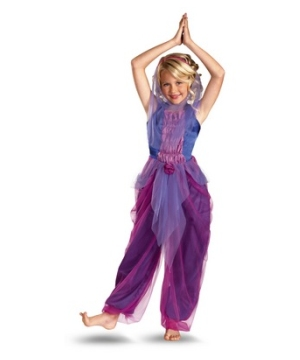 Garden Purple Genie Girl Costume
