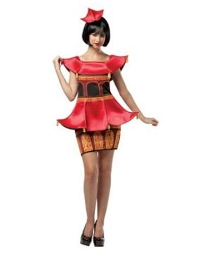 Pagoda Womens Costume