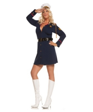 Gentleman's Officer Adult plus size Costume