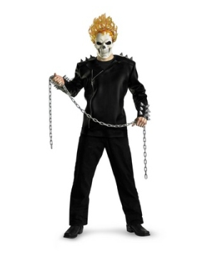 Ghostrider Adult Costume deluxe