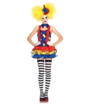 Miss Giggles the Clown Women Costume