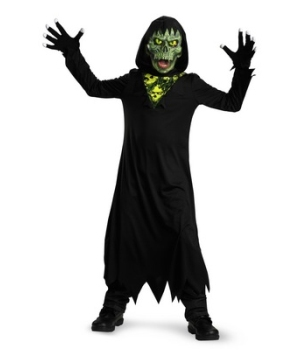 Glow Away Grim Reaper Kids Costume