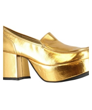 Gold Pimp Adult Shoes